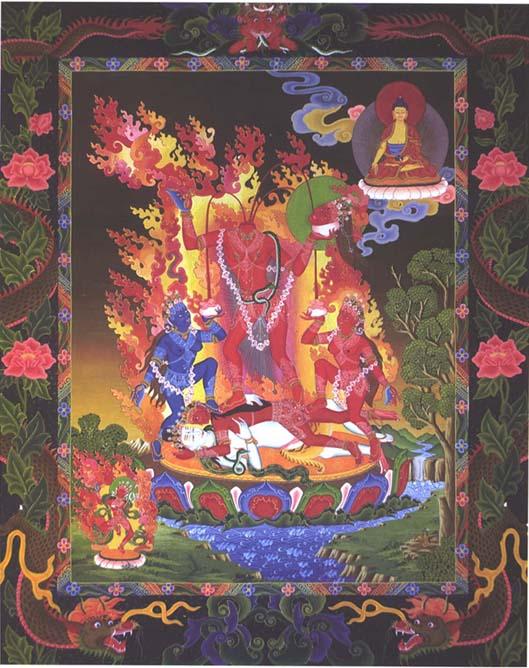 Индуизм тантрический присутствует в буддизме
